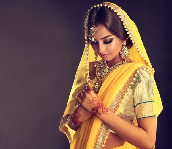 How to style your jewellery with sarees