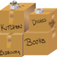Graphic, Moving Boxes, Boxes, Scissors, Packing, Move